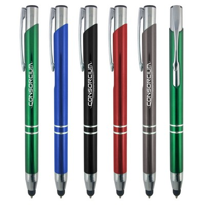 The Venetian Metal Pen+Stylus
